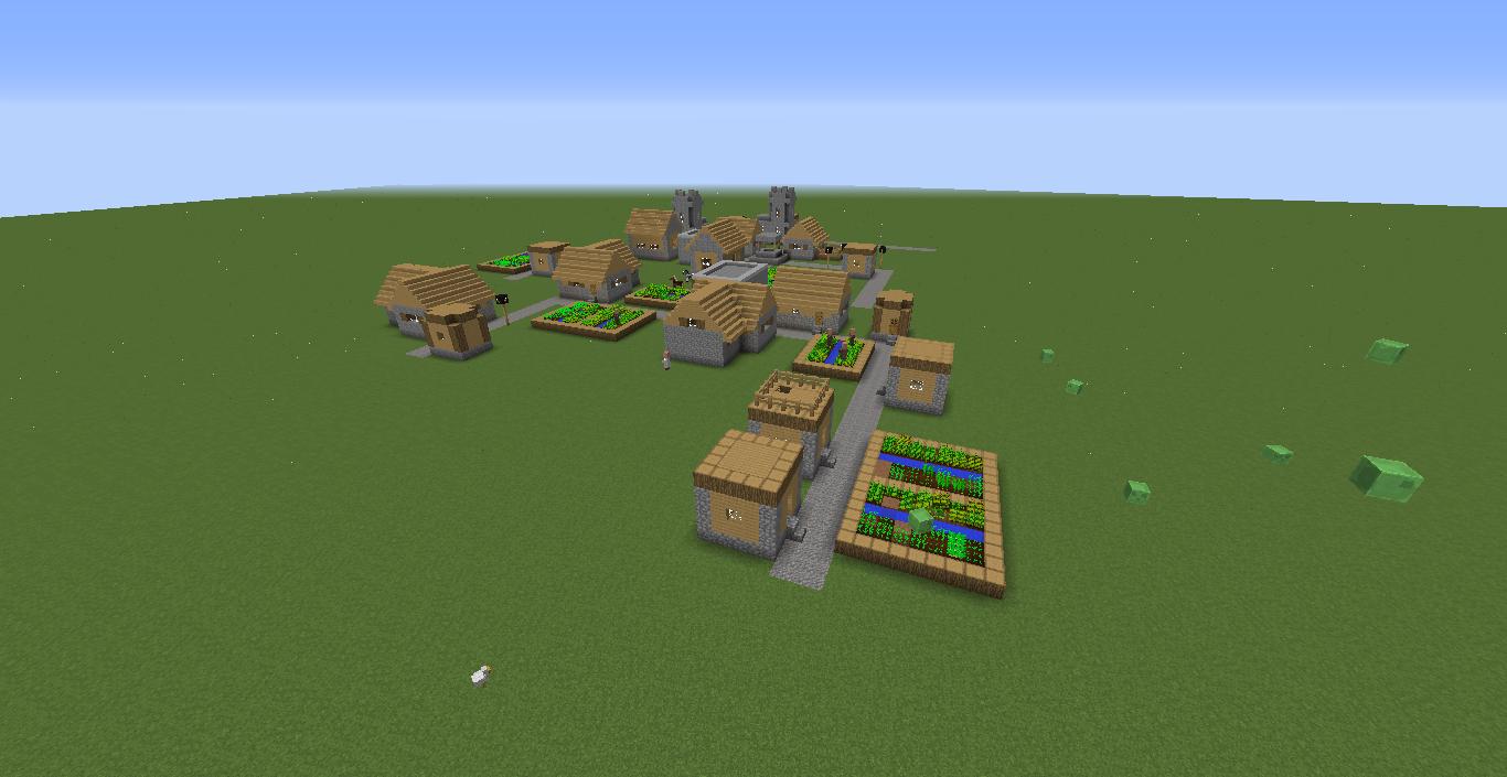 Super Flat Npc Village 18 Seeds Minecraft Java Edition