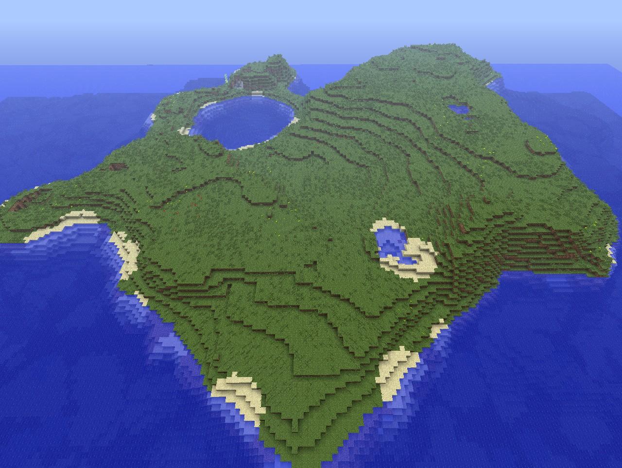 1 8 Island Seed Request Seeds Minecraft Java Edition