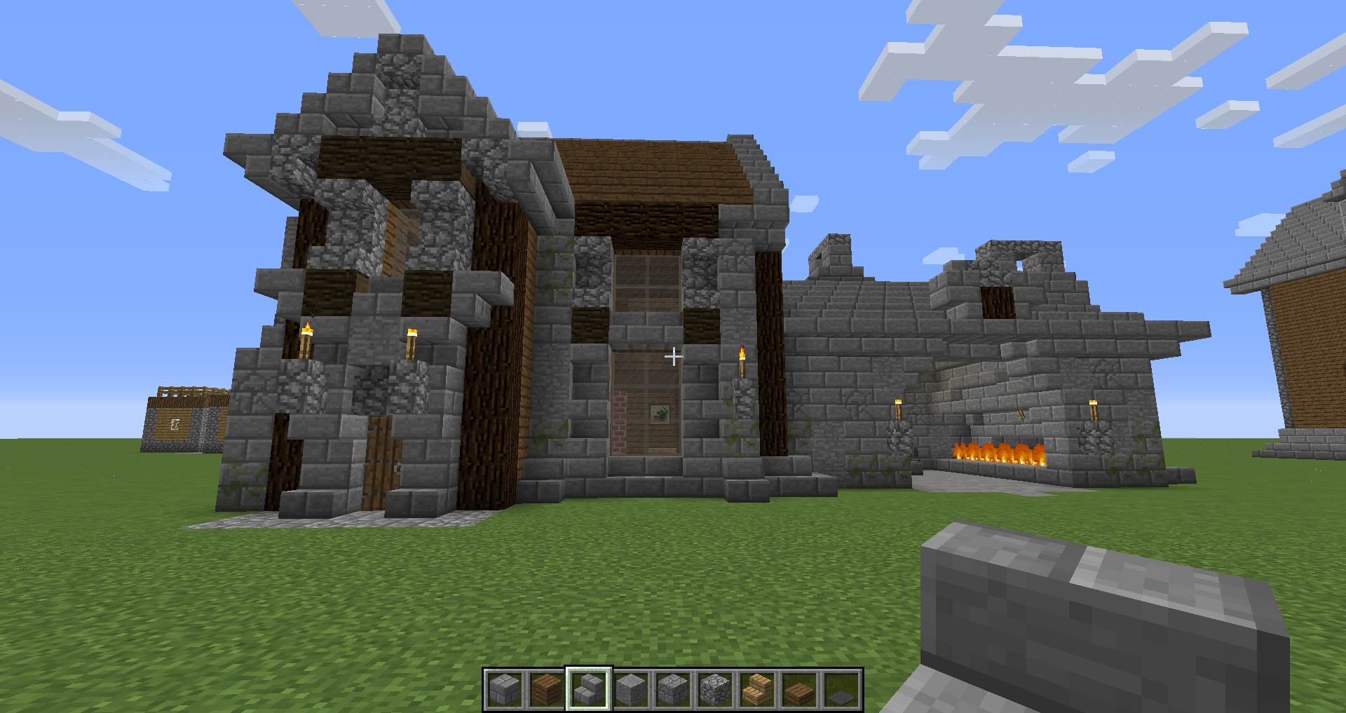 Cool Blacksmith House Survival Mode Minecraft Java