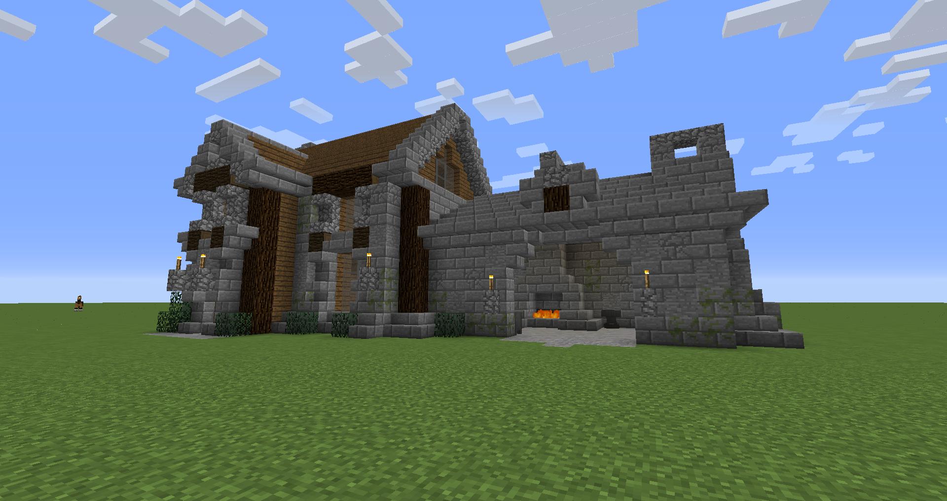 Cool Blacksmith House - Survival Mode - Minecraft: Java ...