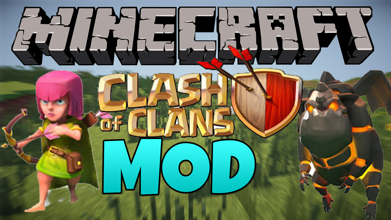 clash of clans mod minecraft mods mapping and modding java edition minecraft forum. Black Bedroom Furniture Sets. Home Design Ideas