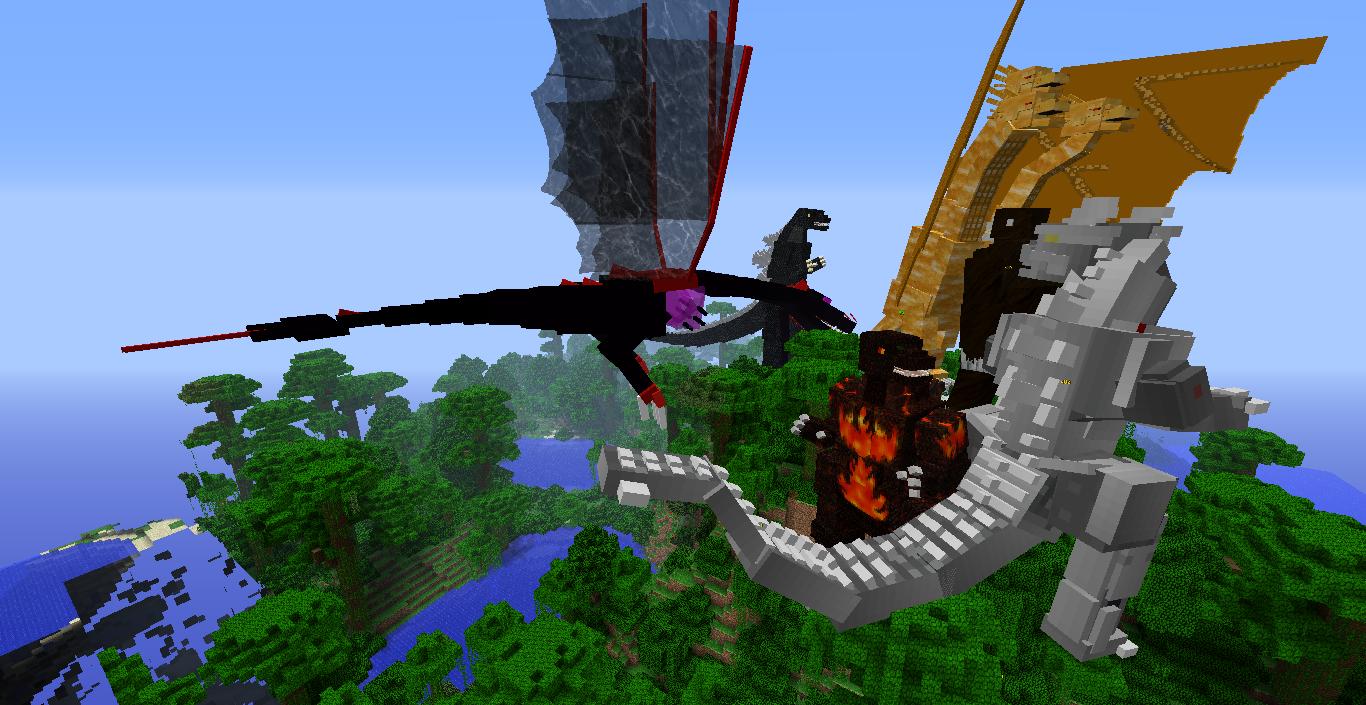 Black dragon майнкрафт