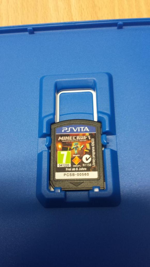 No Game Cartridge For Minecraft PS VITA Edition MCPSVITA - Minecraft spiele fur ps vita