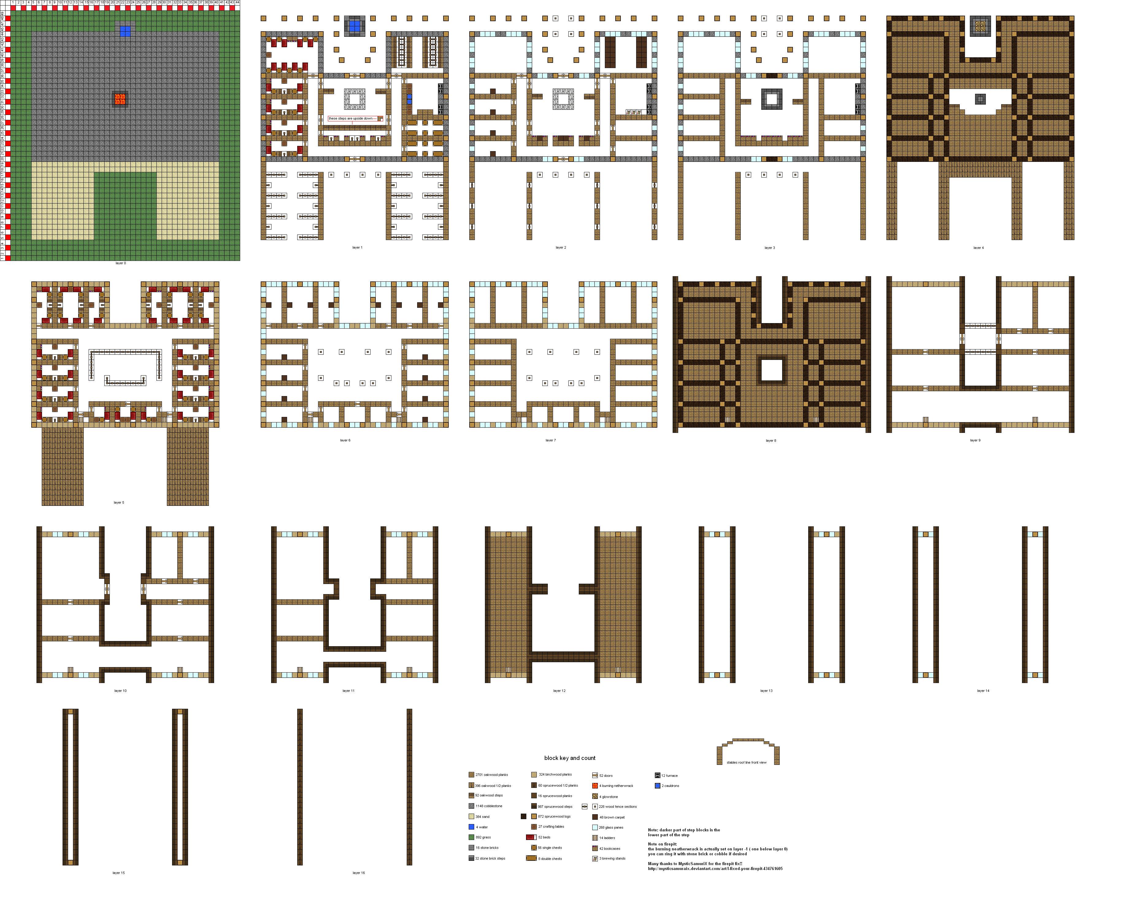 30  Erstaunlich minecraft horse stable for Minecraft Horse Stable Blueprint  11lplpg