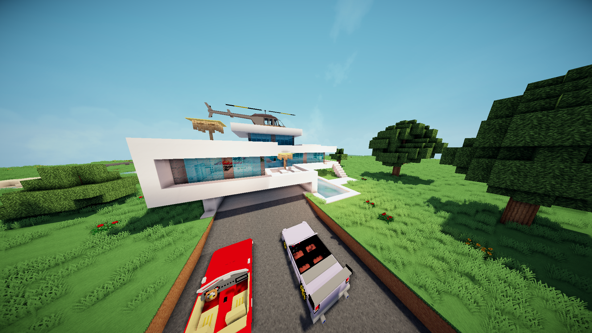 Modern House Map Maps Mapping And Modding Java Edition - Minecraft house map
