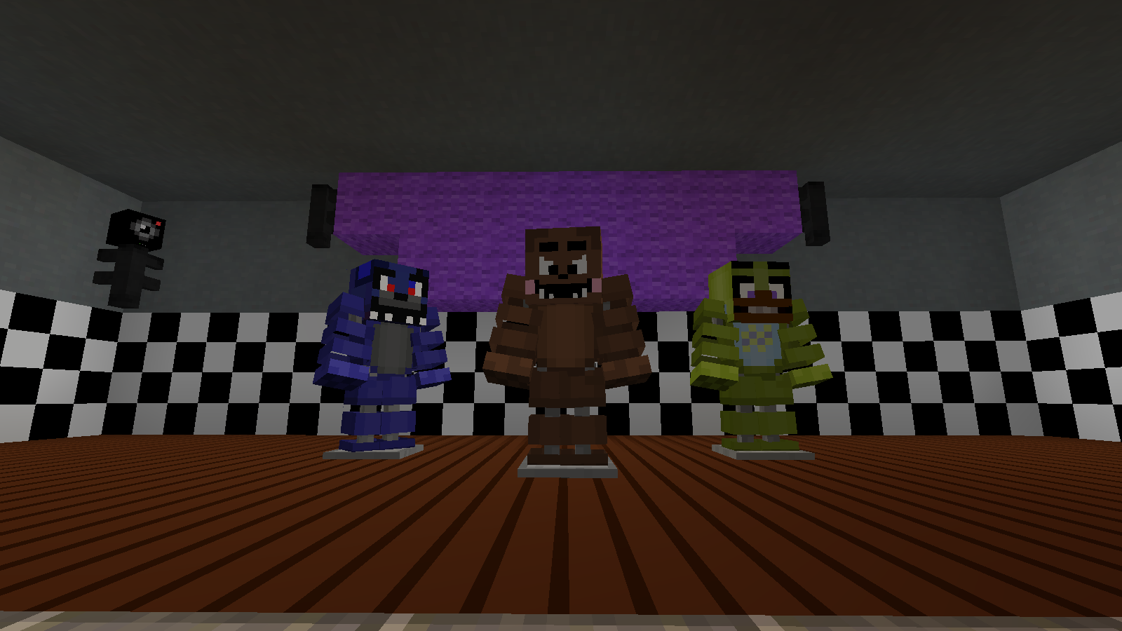 Freddy Fazbears Pizzeria Fnaf2 Maps Mapping And Modding Java