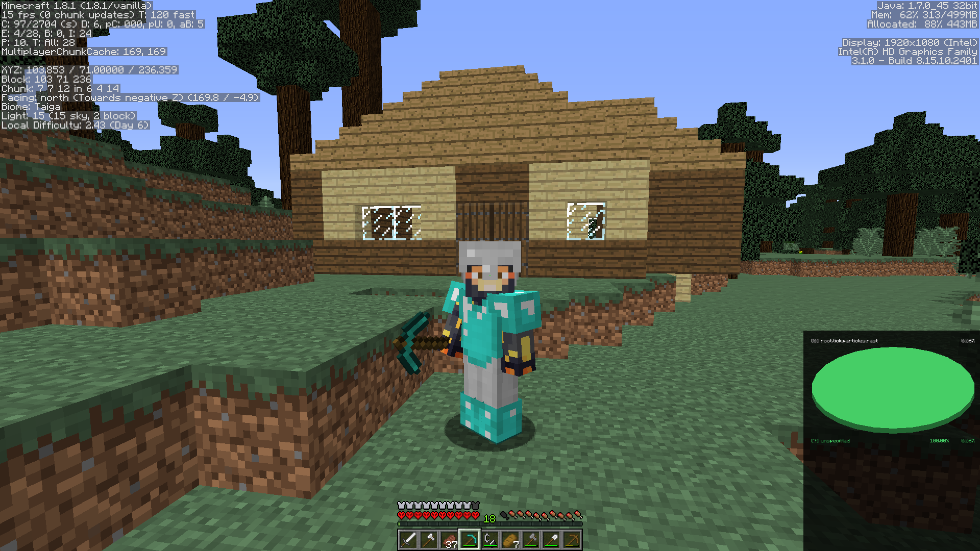 My Survival House - Survival Mode - Minecraft: Java
