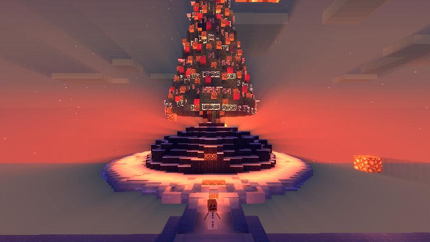 Beautiful Sun Behind Christmas Tree Screenshots Show Your
