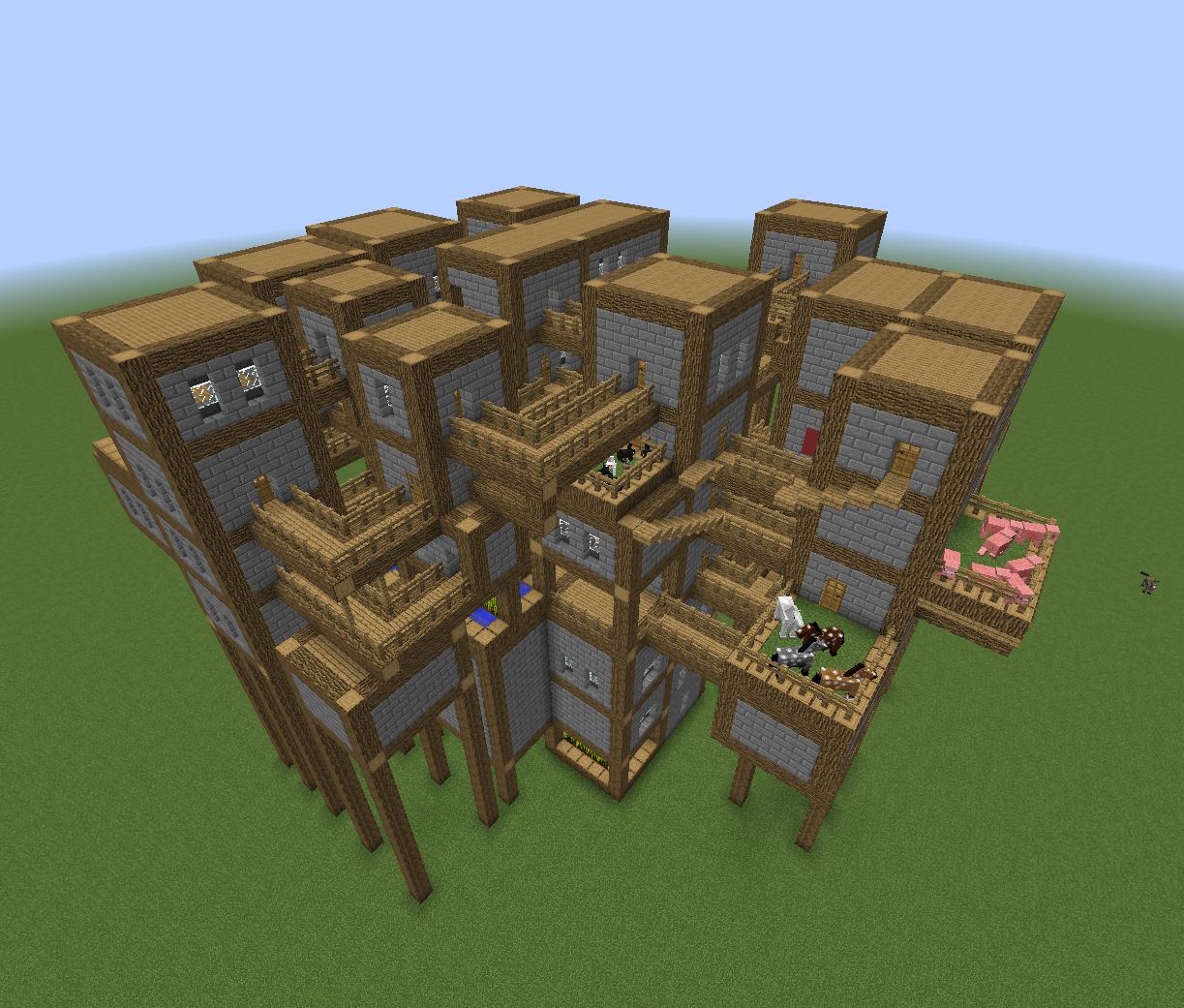 Minecraft Winchester House - Creative Mode - Minecraft ...