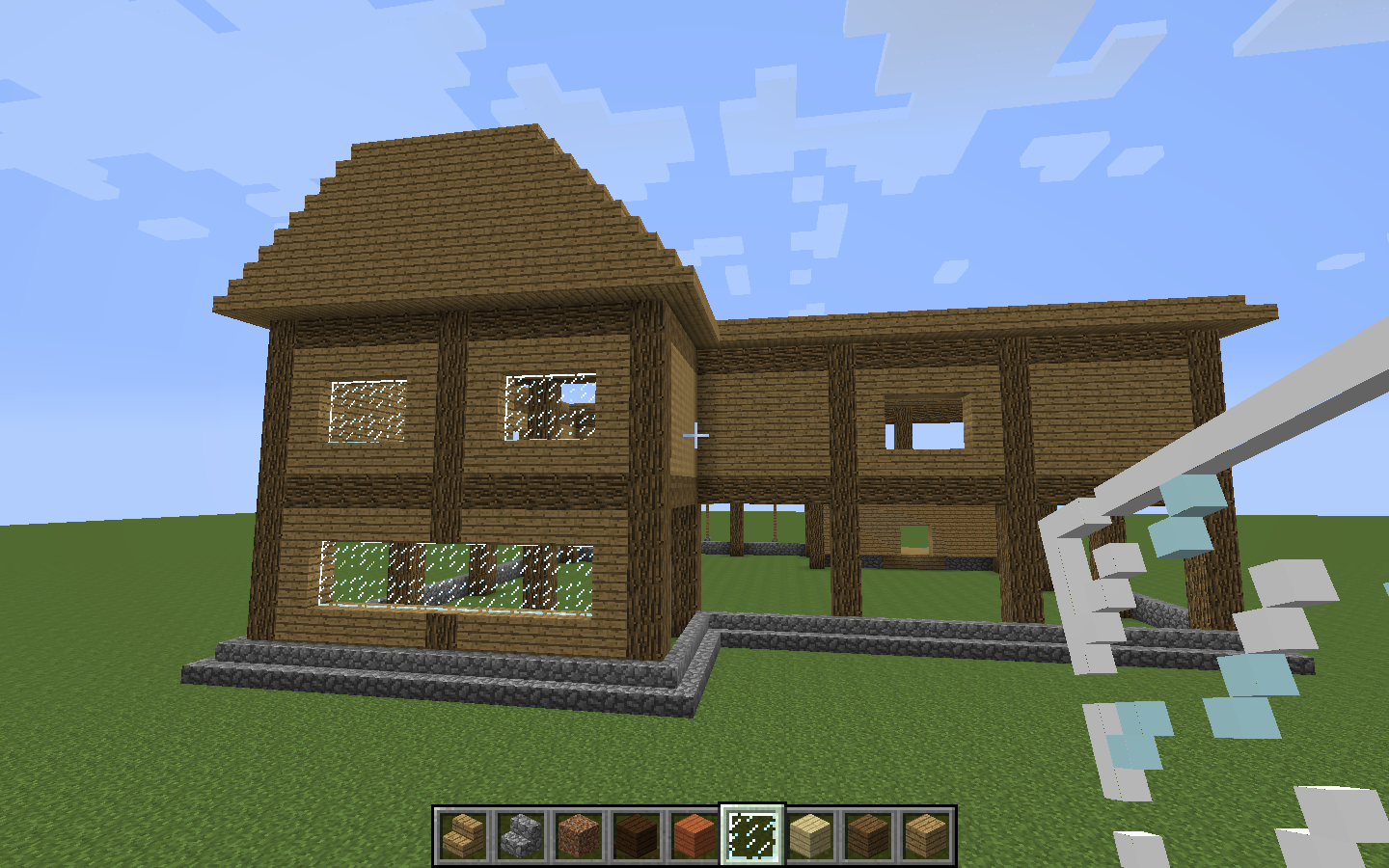 Wooden house tips creative mode minecraft java