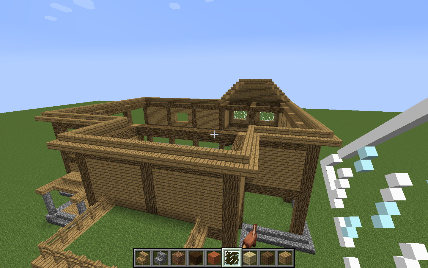 Minecraft Simple Wood House Designs