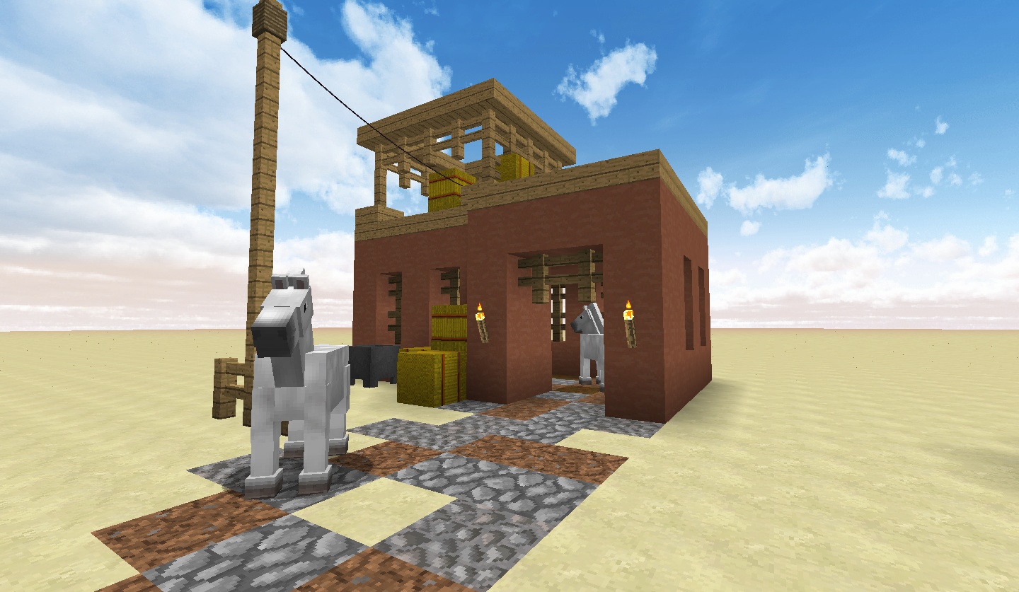 Adobe House And Horse Stable Screenshots Show Your