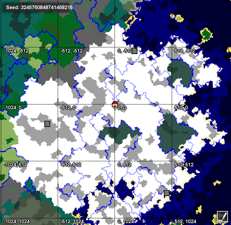 18 Looking For A Large Snowy Mountain Seed Seeds Minecraft
