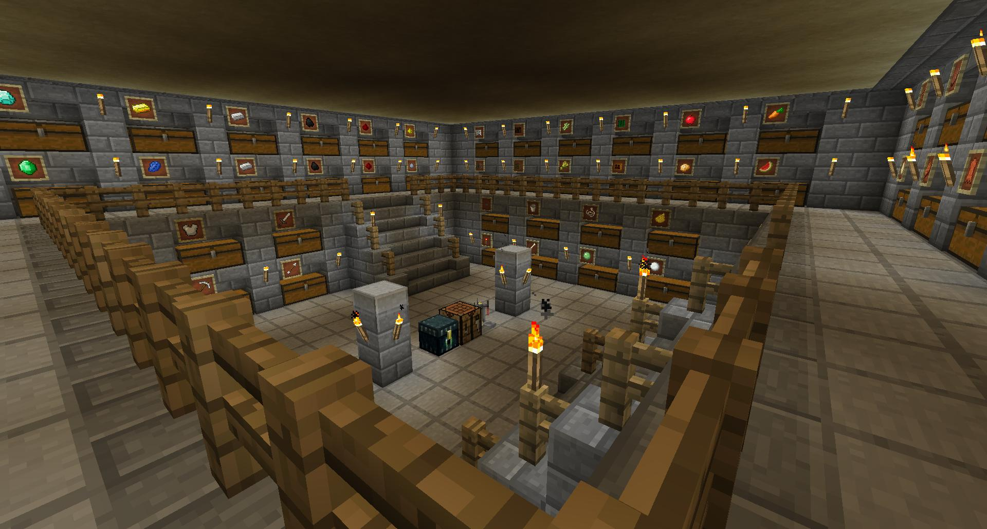 Underground Base Improvements? Suggestions needed! - Survival Mode - Minecraft: Java Edition ...