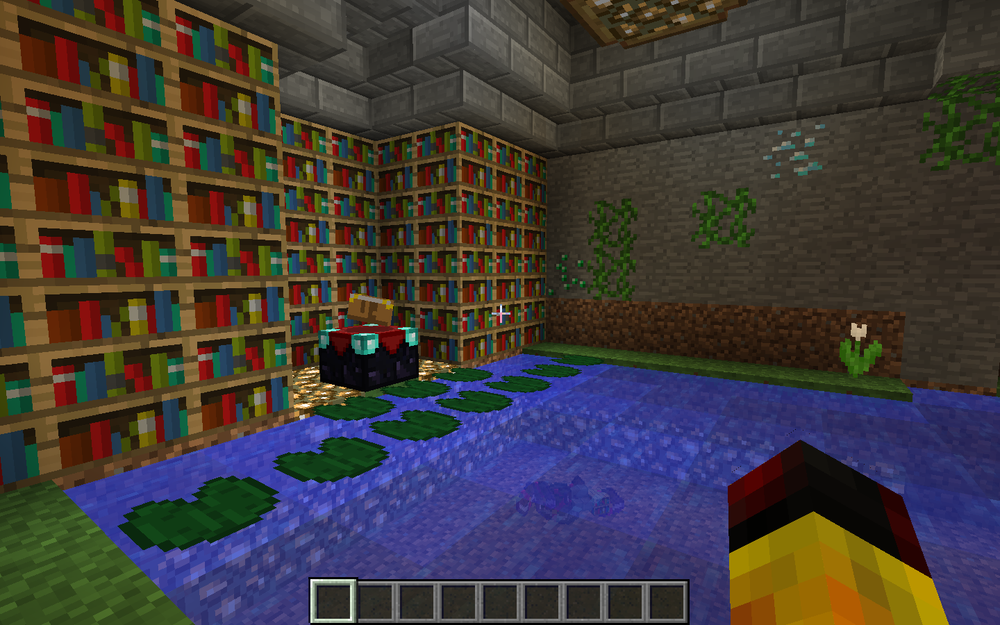 How To Make An Awesome Enchantment Room In Minecraft