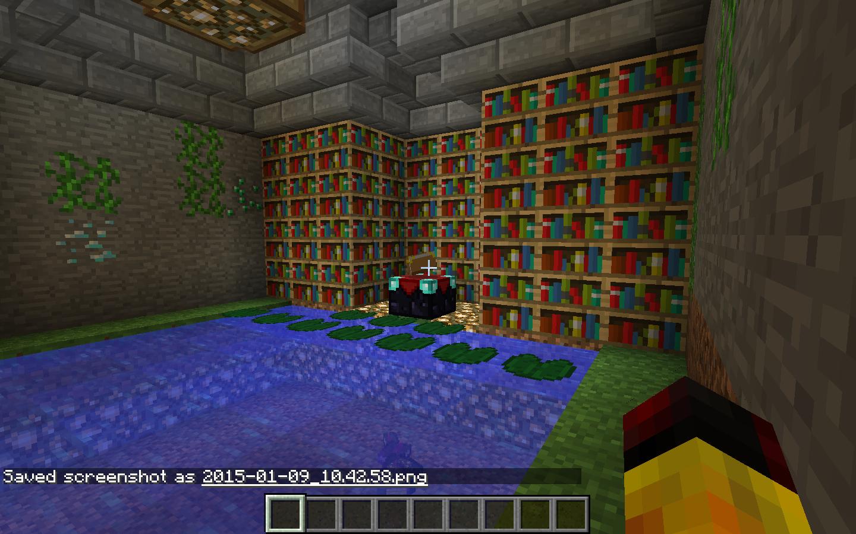 Enchanting room - Creative Mode - Minecraft: Java Edition ... - photo#8