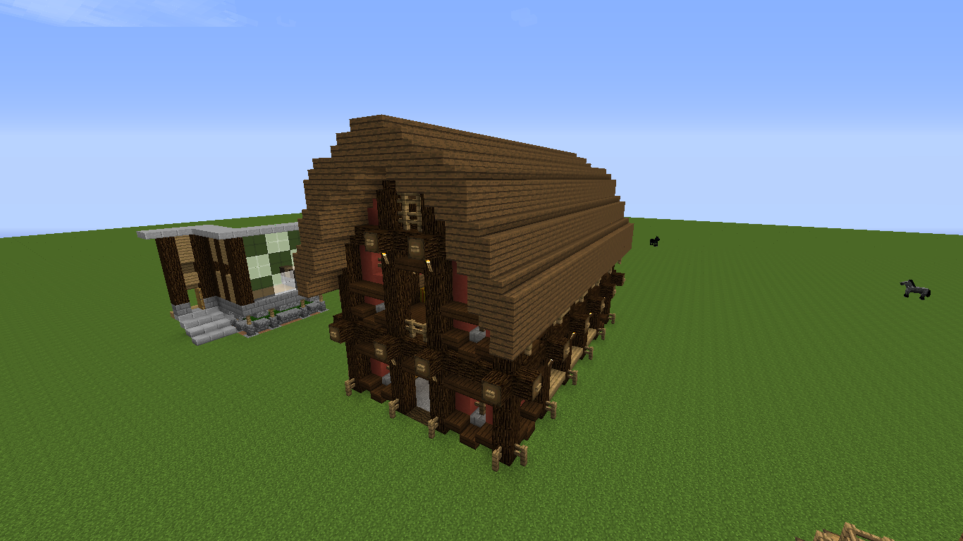 Do you like this barn I built? - Survival Mode - Minecraft ...
