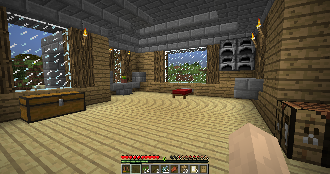 I Need Interior Building Ideas For My House Survival Mode