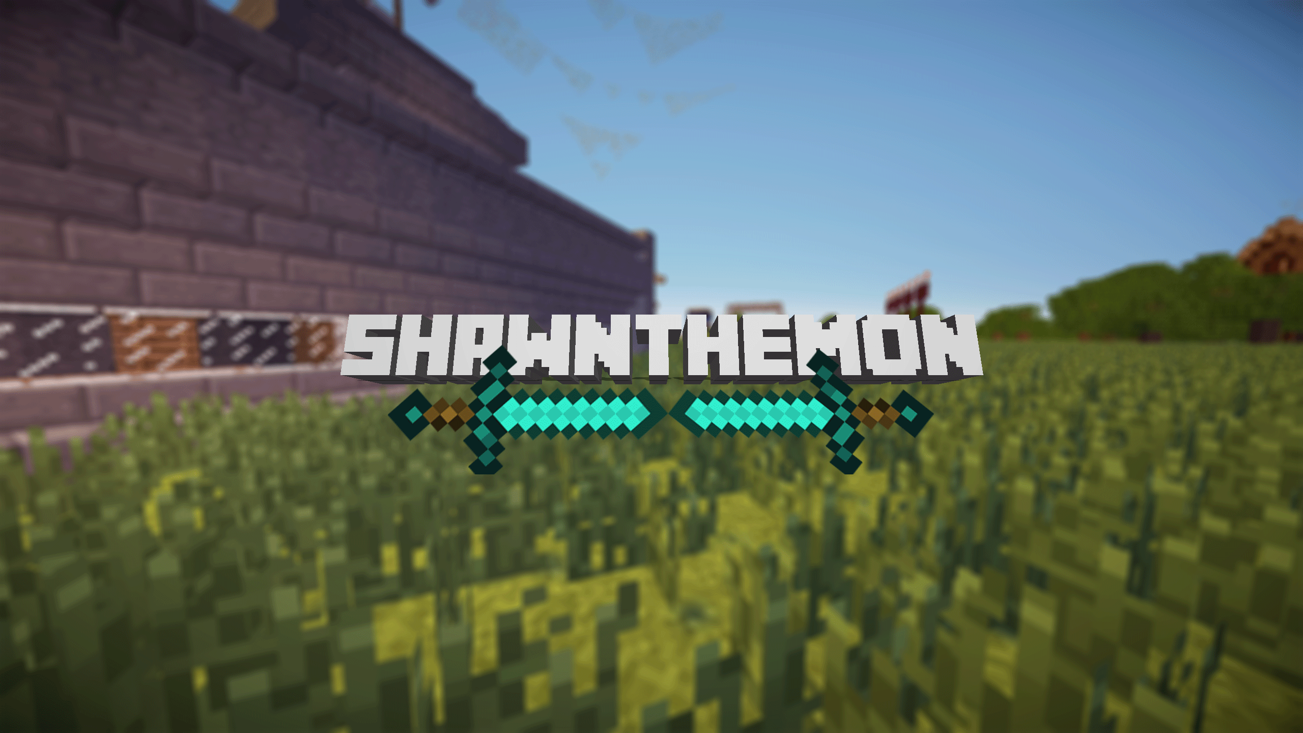 The gallery for --> Youtube Channel Art 2560x1440 Minecraft