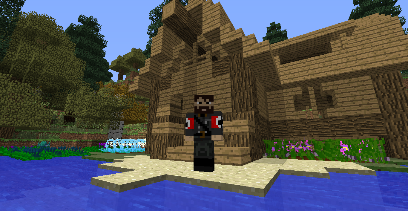 How to thin the player into Minecraft without problems