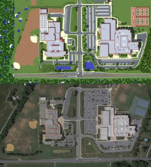 Marriotts Ridge High School Replica Maps Mapping And