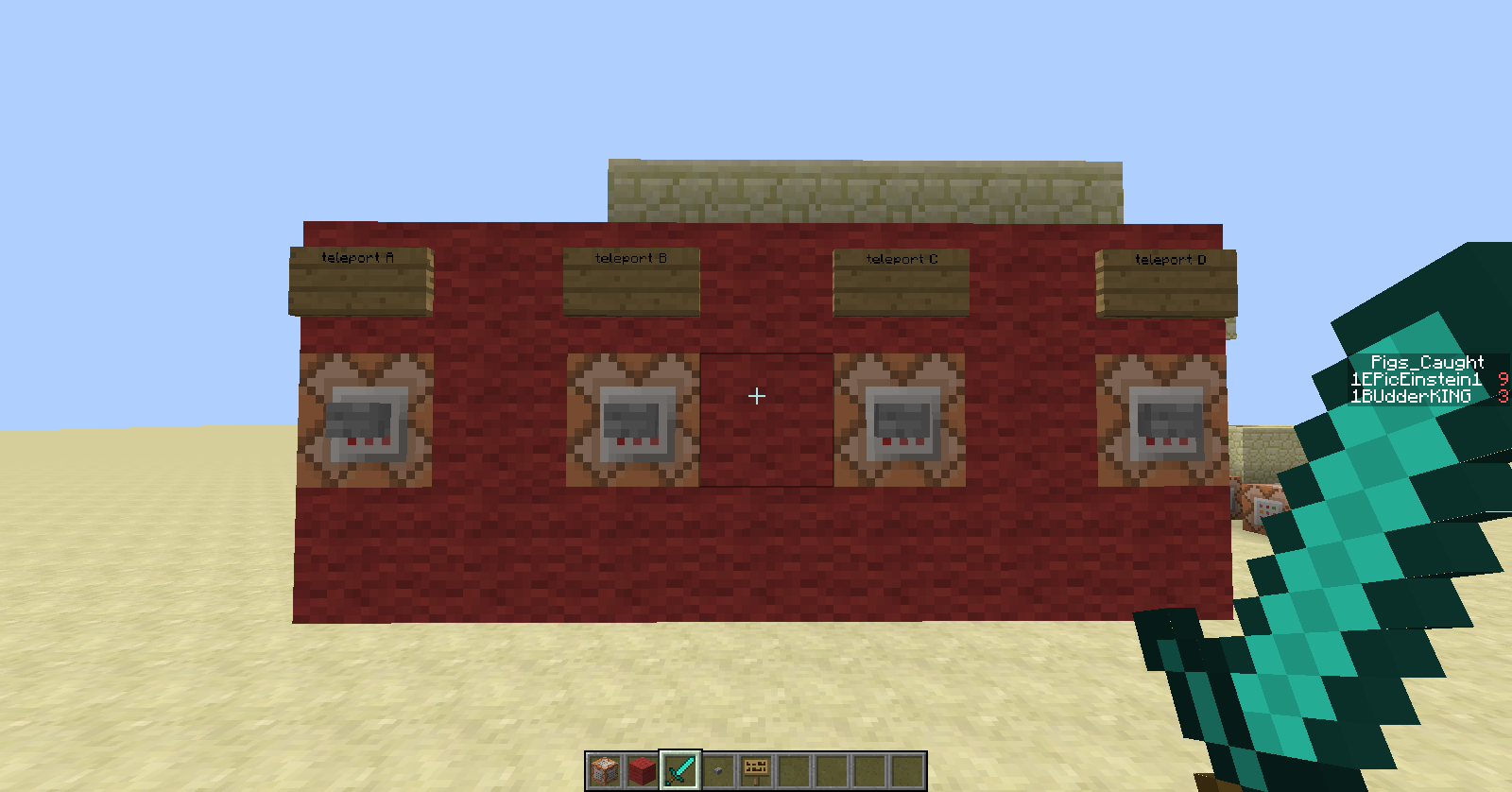 Minecraft Teleportationtp Per Player Command Block Redstone - Minecraft teleport player to location