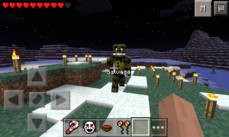 Pocket Five Nights At Freddys ModPhantomHallucination - Skins para minecraft pe five nights at freddys