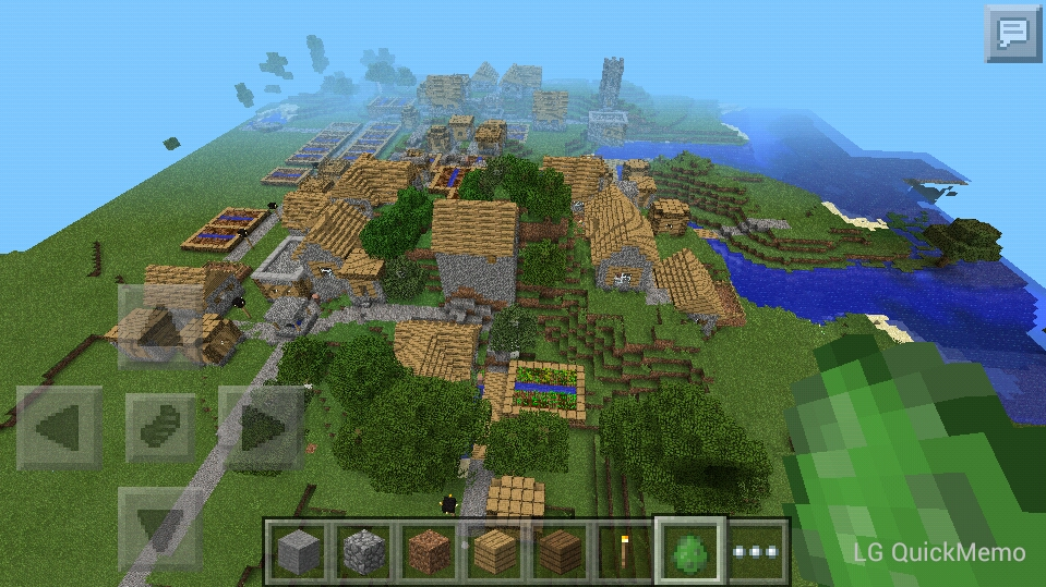 village close at spawn 0 9 2 mcpe seeds mcpe discussion