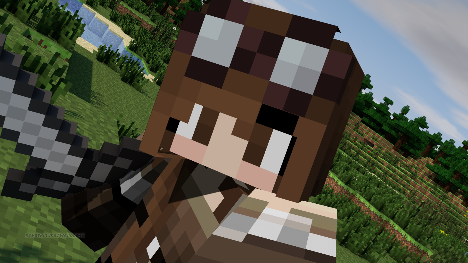 Need A Minecraft Intro YouTube Background CLiCK
