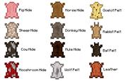 Hide and Pelt Chart