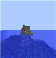 Rock, where seals rest
