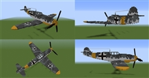 Minecraft-Bf-109-Progress