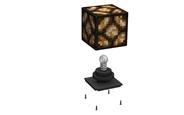 Redstone Lamp Box Exploded