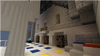 Mage castle library hall
