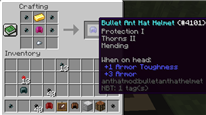 Bullet Ant Hat Crafting Recipe