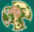 Mega Man Legends map