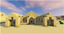 Updated Desert Temple/Pyramid Day