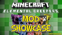 Mod Showcase Elemental Creepers