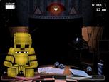 minecraft fnaf2 golden freddy