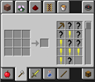 Crafting Guide Interface