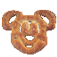 Mickey Mouse Pretzel