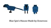Blue spixs macaw dossier